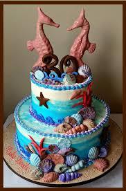 Cake Decorations Beach Theme - 270 best birthday cakes images on pinterest custom birthday
