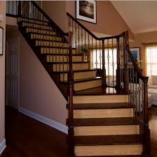 what color to paint stair risers stair tread designs to match