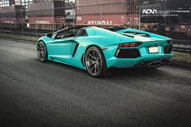 lamborghini factory the only factory lamborghini aventador roadster produced in blu