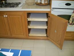Shelves Kitchen Cabinets Install Pull Out Shelves For Kitchen Cabinets Home Decorations