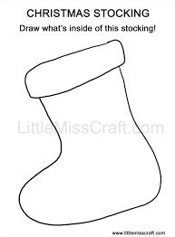 best template ideas on pinterest best christmas stocking outline
