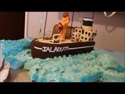 cargo ship cake simple cakes video youtube