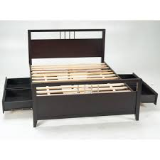 platform storage bed queen hoot judkins furniture san francisco