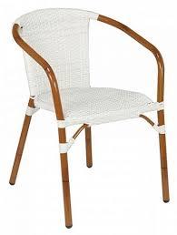 White Bistro Chair Restaurant Bistro Outdoor Furniture