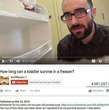 Funny Toddler Memes - how long can a toddler survive in a freezer vsauce edits know