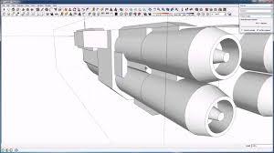 tutorial sketchup modeling pene menn concept art space ship tutorial sketchup modeling