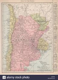 Map Of Chile South America by Chile Argentina Paraguay And Uruguay South America Rand