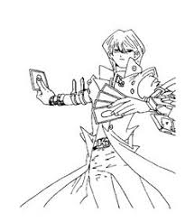 seto kaiba coloring pages yu gi oh coloring pages kidsdrawing