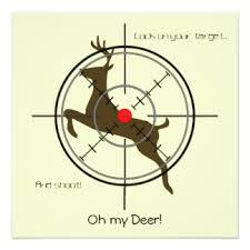 deer hunting birthday invitations u0026 announcements zazzle