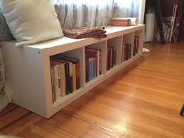Bookshelf Bench Best Ikea Expedit Bookcase Bench Design Decor Modern And Ikea