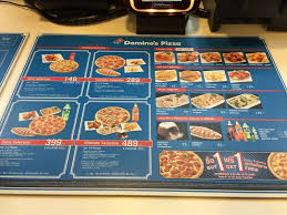 domino cuisine ร ป domino pizza the seasons mall wongnai