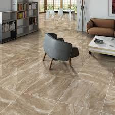 Laminate Flooring Stone Effect Marble Effect Floor Tiles In A Beautiful Moka Coffee Colour
