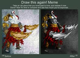 Meme God - before and after meme god of war by slightly spartan on deviantart
