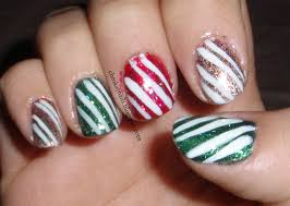ehmkay nails blast from the past christmas character nail art