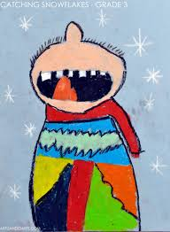 artisan des arts catching snowflakes grade 3