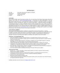 Logistics Responsibilities Resume Logistics Coordinator Job Description Sample 9 Examples In Word
