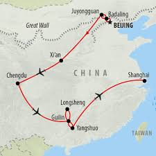 Guilin China Map by Best Time To Visit China On The Go Tours