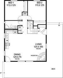 Vacation Cottage Floor Plans First Floor Plan Of A Frame Cabin Narrow Lot Vacation House Plan