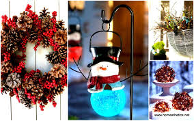 Christmas Decorations Outdoor by 100 Outdoors Christmas Decorations 30 Best Outside