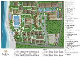 Map Of Bali Padma Resort Legian
