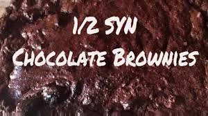 how to slimming world half syn chocolate brownie recipe youtube