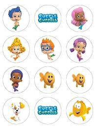 guppies cake toppers 28 best temas guppies images on birthday