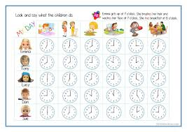 Free Time Worksheets 60 Free Esl Telling The Time Worksheets