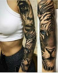 Girly Tattoo Sleeve Ideas 25 Best Tiger Tattoo Sleeve Ideas On Pinterest Lion Hand Tattoo