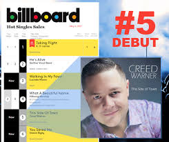 Single K He Creed Warner Debuts At 5 On The Billboard Singles Chart