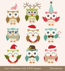 owl christmas christmas owl clipart clipartxtras