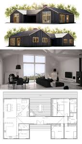 Barn Style Homes Floor Plans Digging The Floor Plan Would Probably Change The Building