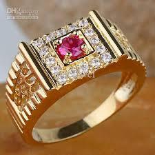 gold rings for men 2017 men ruby ring r125 gflm size 9 10 11 j8169 gift