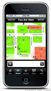 mall app mall maps iphone app gains popularity ahead of black friday nov