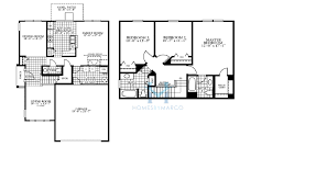 Dr Horton Cambridge Floor Plan by Marigold Model In The Cambridge Lakes Subdivision In Pingree Grove