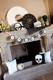 captivating ideas of scary halloween mantel decorations