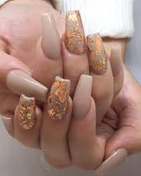 so pretty for thanksgiving nails