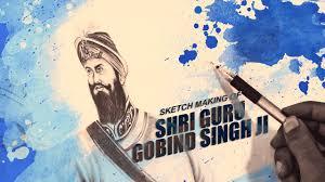 sketch making of guru gobind singh ji yashpal singh virasat