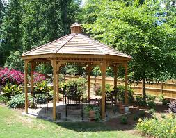 Discount Gazebos by Treated Pine Single Roof Octagon Gazebos Gazebos By Style