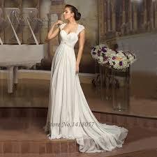 aliexpress com buy simple cheap beach wedding dress lace chiffon
