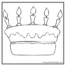 happy birthday cake coloring printables kids u2013 free