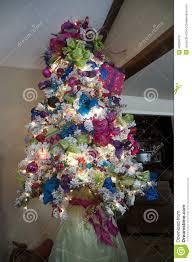 blue green tree decorations