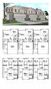 multi family floor plans cool house plans