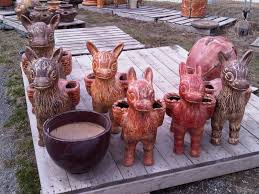Animal Pots by Potteryyard Com