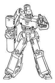 giant robot coloring power rangers coloring pages