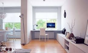 home office with tv decorations calm modern home office design ideas with rectangle