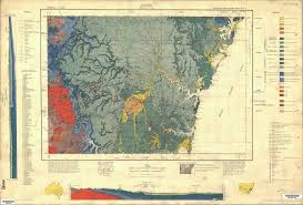Geological Map Sydney 1 250 000 Geological Map Nsw Resources And Energy