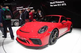 new porsche 911 new porsche 911 gt3 unveiled in geneva