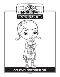 doc mcstuffins coloring page mama likes this
