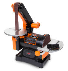 wen 1 x 30 inch belt sander with 5 inch sanding disc