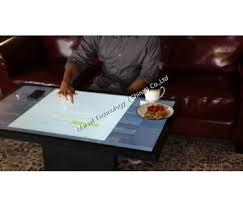 Touch Screen Coffee Table by Lcd Multi Points Interactive Waterproof Touch Screen Coffee Table